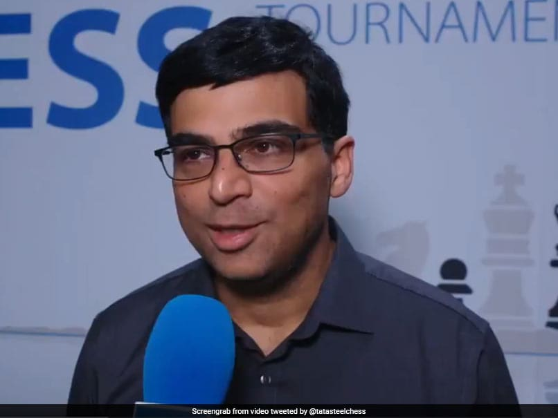 Viswanathan Anand Draws With 20-Year-Old Jorden Van Foreest In Tata Steel Masters