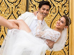 <i>Coolie No 1</i> New Pic: Sara Ali Khan And Varun Dhawan Right Out Of A Fairy Tale