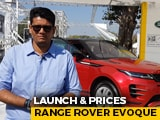 Video : 2020 Range Rover Evoque India Launch And Prices