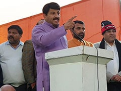 """Who Gave AAP The Right?"" BJP's Rs 500 Crore Defamation Notice Over Manoj Tiwari Video"