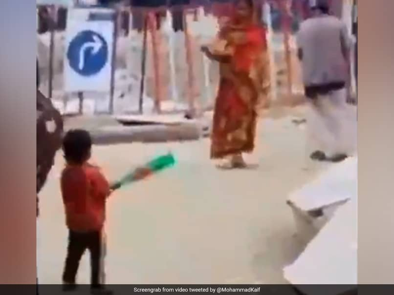 "Mohammad Kaif Wins Internet With ""Beautiful"" Video Of ""Mother Bowling, Child Batting"". Watch"