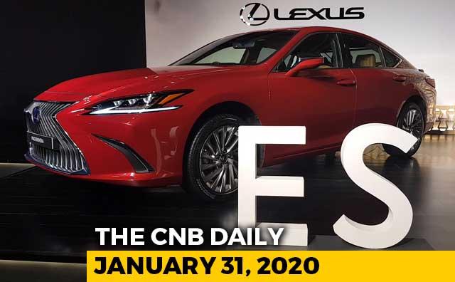 Lexus ES 300h, BharatBenz BS6, TVS Apache RR310