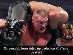 WWE में जब ब्रॉक लेसनर ने जॉन सीना का पीट-पीटकर किया ऐसा हाल, देखें पूरे Match का वीडियो...