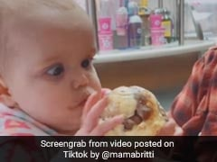 Baby's Priceless Reaction To Her First Ice Cream Has Internet In Stitches