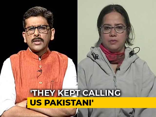 Video : Slapped By Male Cop, Told To Go To Pak, Sadaf Jafar Narrates Her Story