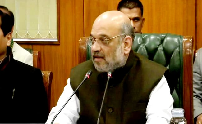 Amit Shah Speaks To Chief Ministers, Asks For Feedback On Lockdown