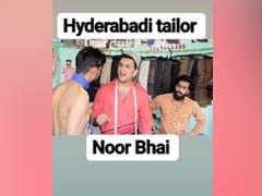 हैदराबादी टेलर 'नूर भाई' ने TikTok पर मचाया धमाल, शख्स को सिलकर दी ऐसी शर्ट...घूम गया सिर, देखें VIDEO