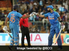 """One Of Us Wanted To Keep Going"": Rohit Sharma On Partnership With Virat Kohli"