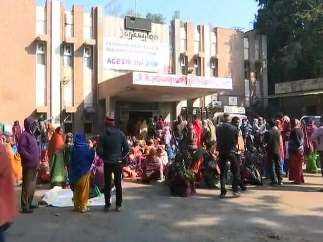 Video : Over 600 Infants Died In Rajasthan, Gujarat Hospitals Last Month