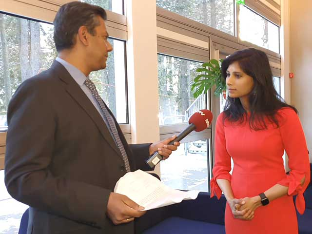 Video : IMF To Track India Protests, Assessment In April: Gita Gopinath To NDTV