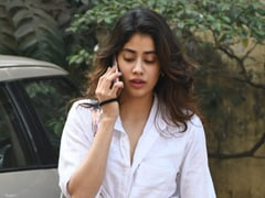 Janhvi Kapoor Signals It's Time To Bring Out Your Whites