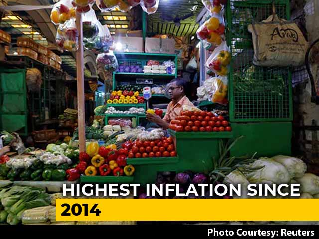 Video: Retail Inflation At 7.35% In December, Worst Since July 2014