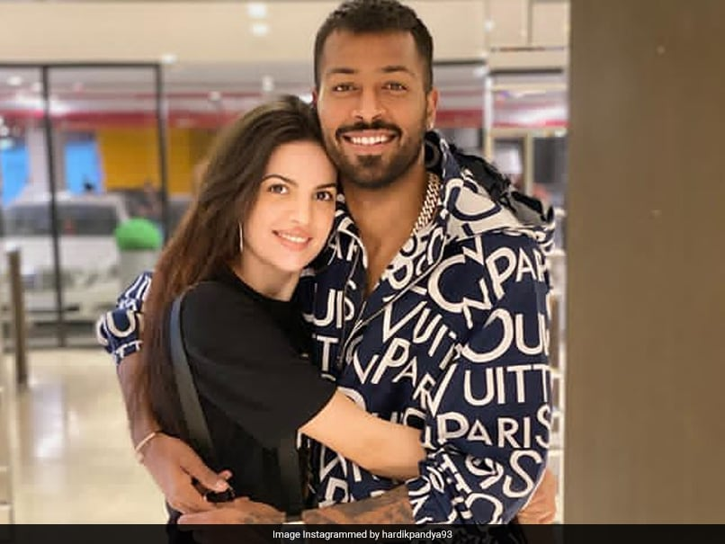 Hardik Pandya Posts Loved-Up Picture With Fiancee Natasa Stankovic