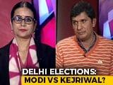 Video : Will PM Modi's Charm Bring Down The Kejri'wall' In Delhi Elections?