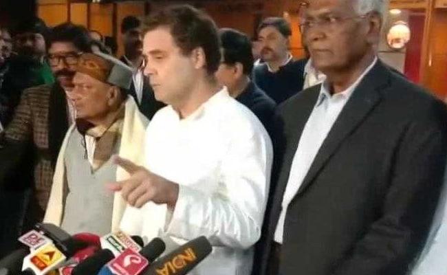 'Best Way To Silence Terrorist Davinder...': Rahul Gandhi On J&K Cop Case
