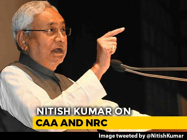 Video : Nitish Kumar First BJP Ally To Openly Call For Rethink On Citizenship Law