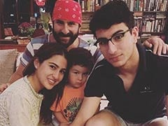Saif Ali Khan Was Asked About Going To A Pub With Sons Taimur And Ibrahim. Wait, What?