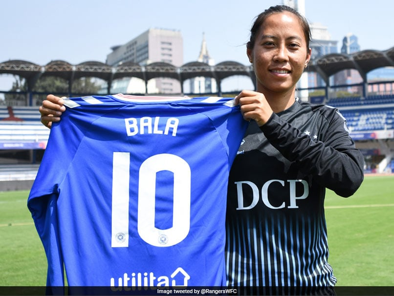 Bala Devi Signs For Rangers FC, Becomes First Indian Woman To Play Professional Football Outside Country