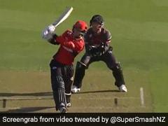 Batsman Does A 'Yuvraj Singh', Hits 6 Sixes In An Over In New Zealand T20 League. Watch Video