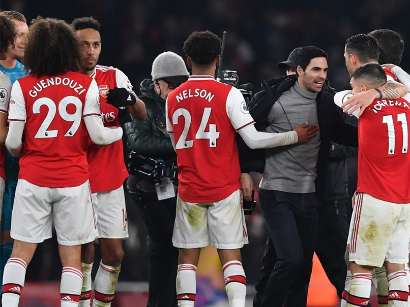 Arsenal Blow Away Manchester United To Hand Mikel Arteta First Win
