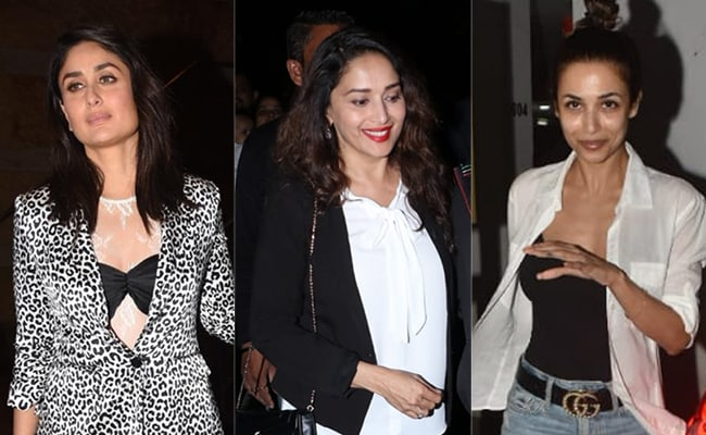 Kareena Kapoor, Malaika Arora And Madhuri Dixit Are Showing Us How To Layer Up In Style