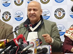 "BJP's Delhi Polls List ""Wedding Procession Without Groom"": Manish Sisodia"
