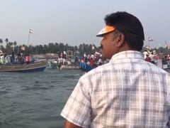 Watch: Hundreds Travel By Sea To Protest Citizenship Law In Mangaluru