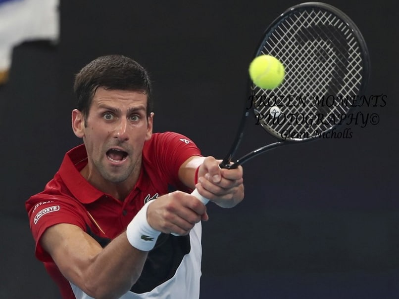 Novak Djokovic Comes Back From A Set Down To Send Serbia To ATP Cup Semi-Finals