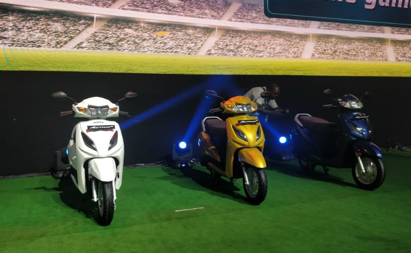 The new Honda Activa 6G meets the upcoming BS6 regulations