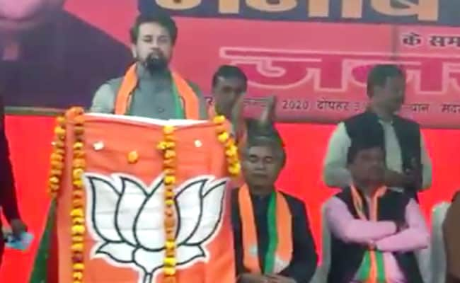 Drop Anurag Thakur, Parvesh Verma As BJP Star Campaigners, Says Poll Body