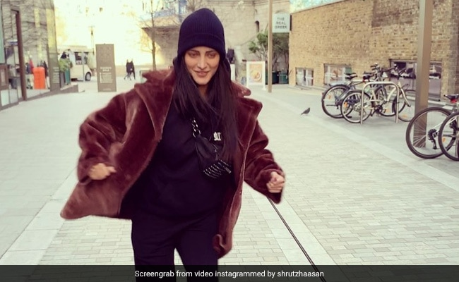 Trending: Shruti Haasan Was So Thrilled It Was Her Birthday She Did This '100 Per Cent Crazy' Dance In London
