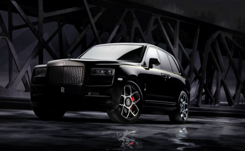 Rolls Royce Cullinan Black Badge Launched In India; Priced At ₹ 8.2 Crore