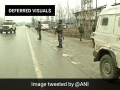 Terrorist Killed In Encounter With Security Forces In J&K's Awantipora