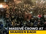 Video : Massive Crowd, Multi-Faith Prayer At CAA Protest In Delhi's Shaheen Bagh