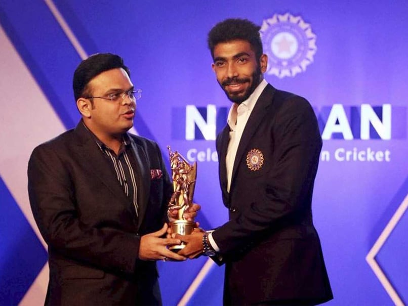 Jasprit Bumrah Receives Polly Umrigar, Dilip Sardesai Awards