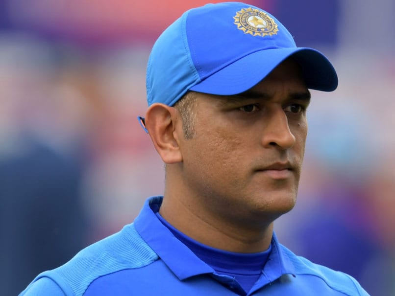 """We Miss You Dhoni"": Fans Come Up With Special Banner For Former India Captain During 4th T20I vs New Zealand"