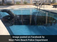 ड्राइवर ने पार्किंग में गाड़ी खड़ी करने की जगह पूल में पार्क कर दी कार, जमकर उड़ रहा मजाक, देखें वीडियो...