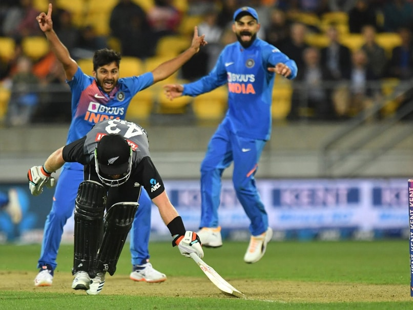 4th T20I: Shardul Thakur's All-Round Performance Helps India Beat New Zealand In Super Over