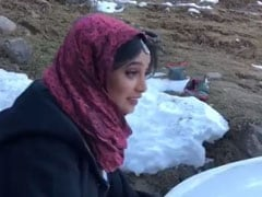 कड़ाके की ठंड से बचने के लिए रानी चटर्जी ने किया कुछ ऐसा उपाय, वायरल हुआ Video