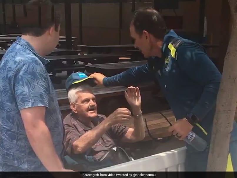 Justin Langers Gesture For 80-Year-Old Australia Fan Wins Hearts On Internet. Watch