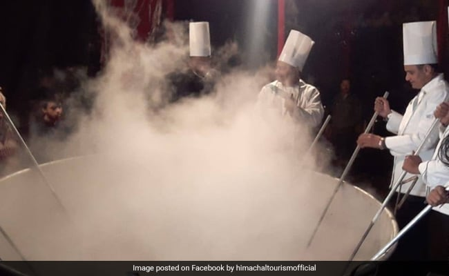 Guinness Record For Largest Amount Of Kichdi Ever In Himachal Pradesh