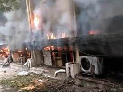 Fire Breaks Out At Delhi Government Office, 10 Fire Engines At Spot