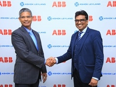 Ashok Leyland And ABB Power Sign MoU to Develop Electric Buses For India