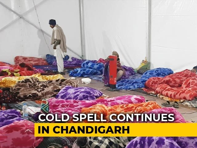 Video : Patients And Families Brave Extreme Cold in Chandigarh