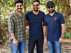 'RRR': Ajay Devgn, Ram Charan And Jr NTR In A Blockbuster Pic
