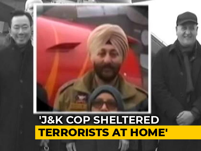 Video : J&K Cop, Arrested With Hizbul Terrorists, Kept Them At His Home: Sources
