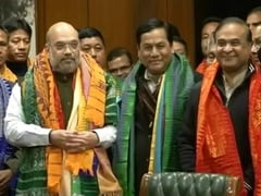 """Historic Accord,"" Says Amit Shah As Bodo Agreement Signed"