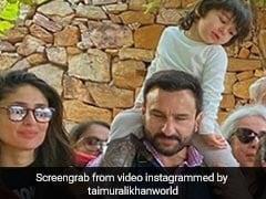 सैफ अली खान को फिल्म 'तान्हाजी' में देखकर एक्साइटेड हुए तैमूर अली खान, कहने लगे- 'सरदार जी, सरदार जी'