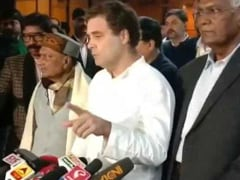 """Best Way To Silence Terrorist Davinder..."": Rahul Gandhi On J&K Cop Case"