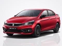 Sales Of Maruti Suzuki Ciaz Crosses The Three Lakh Milestone